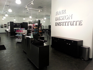 hair design Institute front desk