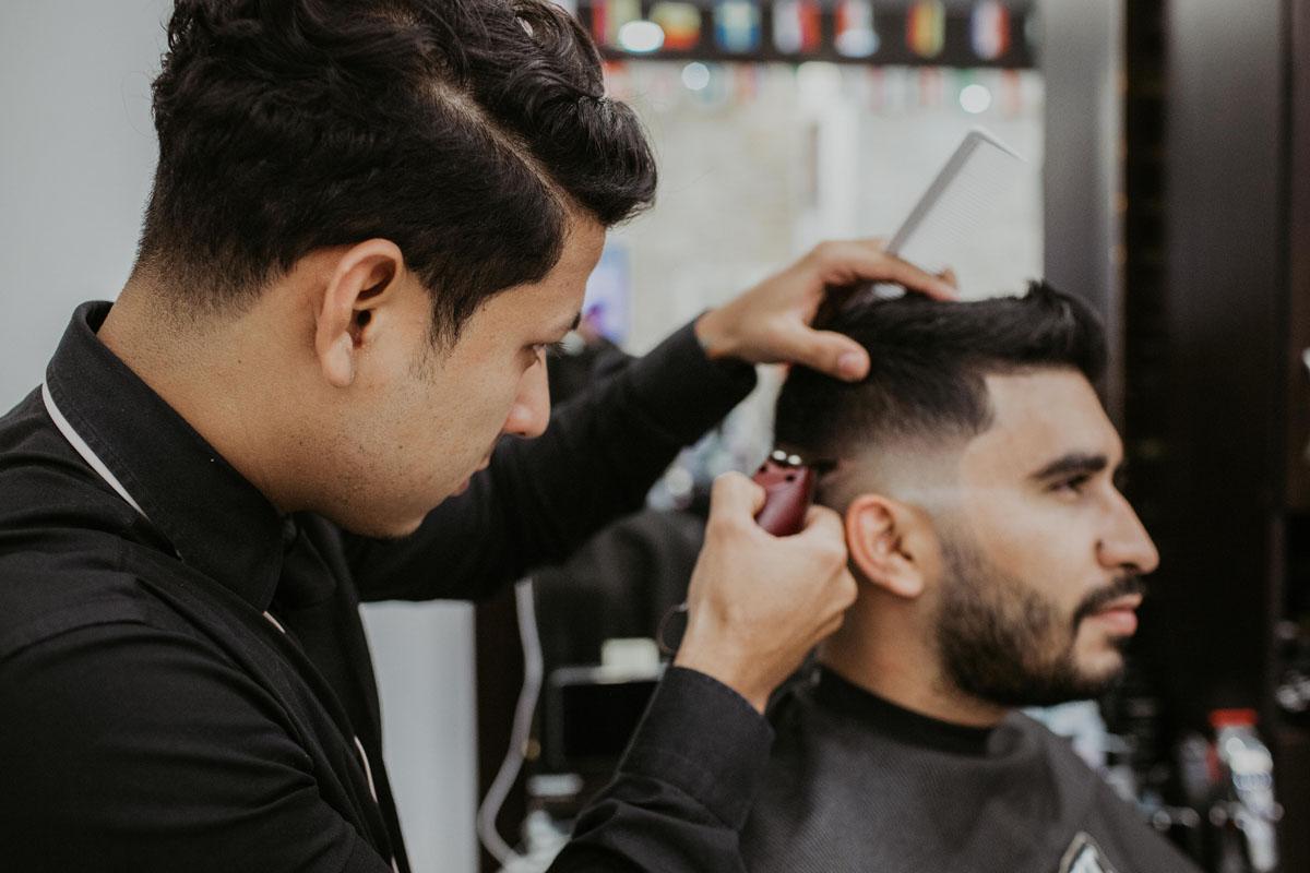 adult barber