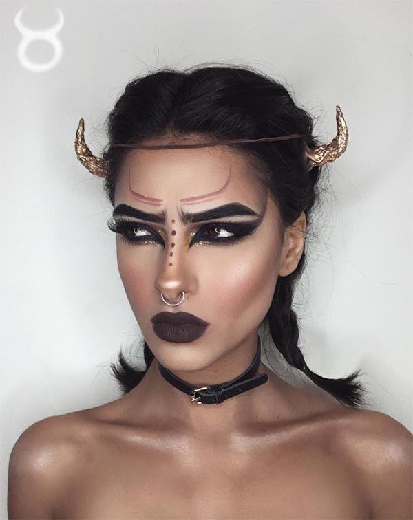 Astrology Queen makeup