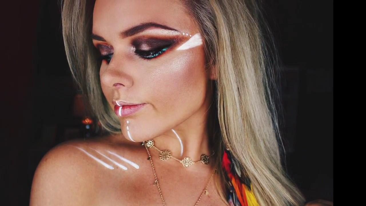 Warrior Princess makeup